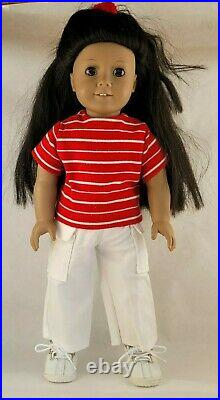 American Girl Doll JLY #15 Retired Textured Hair Preowned Used Rare
