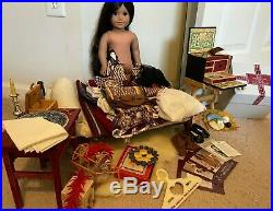 American Girl Doll JOSEFINA Pleasant Co, with furniture, clothes & accessories