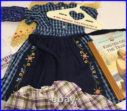 American Girl Doll KIRSTEN Outfits & Accessories Lot