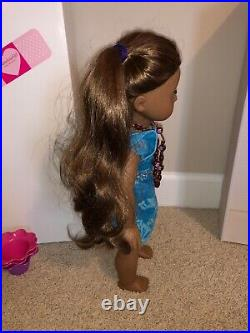 American Girl Doll Kanani GOTY 2011 Retired Collection HUGE lot VGC