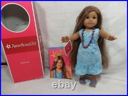 American Girl Doll Kanani GOTY 2011 with dress, necklace, sandals in Box