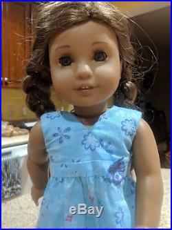 American Girl Doll Kanani GOTY box, meet dress, undies and sandals, retired