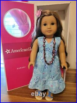 American Girl Doll Kanani. Gently Used. Retired 2011 Girl of the Year