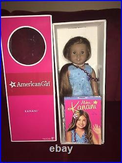 American Girl Doll Kanani In Box 18 Doll In Box