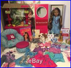 Astonishing American Girl Doll Kanani Pierced Ears Her Aloha World Lot Unemploymentrelief Wooden Chair Designs For Living Room Unemploymentrelieforg