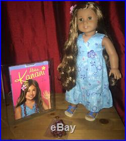 American Girl Doll Kanani With Box, Book & Meet Outfit