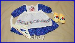 American Girl Doll Kirsten Baking Outfit With Hanger Retired
