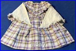 American Girl Doll Kirsten's Promise Dress With Shawl VERY RARE! Retired 2005