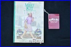American Girl Doll Kit Kittredge with Meet Outfit, Accessories and Original Box