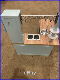 American Girl Doll Kitchen Set With Most Things Included