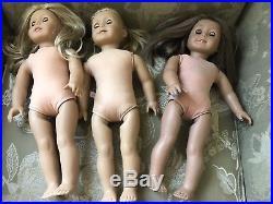American Girl Doll LOT (FOR PARTS OR REPAIR) TLC