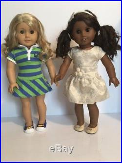 American Girl Doll Lanie & Truly Me Doll Sonali Mold Lot Very Nice