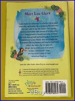 American Girl Doll Lea Clark 2016 Girl Of The Year with Book Excellent Condition