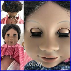 American Girl Doll Lot Of 4 Samantha, Felicity, Addy & Josefina 18 Inches