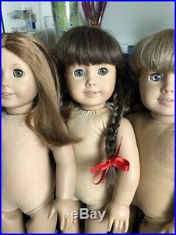 American Girl Doll Lot (Samantha, Kirsten, Molly, Emily)