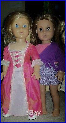American Girl Doll Lot of 5 Kit with scooter McKenna Elizabeth Used