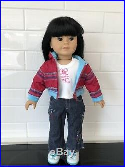 American Girl Doll MAG JLY Truly Me #4 Great Cond WithMeet + Extra Outfit