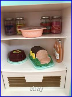 American Girl Doll Maryellen's Refrigerator and Food Set, NO LONGER AVAILABLE
