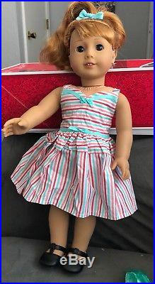 American Girl Doll Maryellen with original outfit accessories and 5 outfits