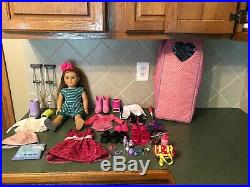American Girl Doll McKenna Brooks Girl Of The Year Lot With Accessories