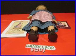 American Girl Doll Meet Kirsten Larson 18 Doll With Book Pleasant Co Retired