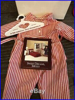 American Girl Doll Molly McIntire HUGE LOT 1986 Retired Pleasant Company