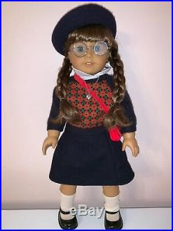 American Girl Doll Molly McIntire RETIRED used in box with accessories
