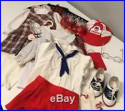 American Girl Doll Molly & Outfits with Accessories RARE