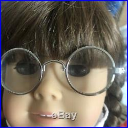 American Girl Doll Molly Vintage Pleasant Company Partial Meet Outfit Glasses