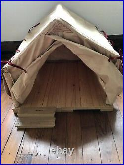American Girl Doll Mollys Camp Gowonagin Tent Complete Musical Steps Work! Read