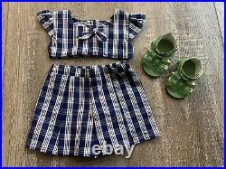 American Girl Doll Nanea's Palaka Outfit Beforever Sandals, Shirt, Shorts