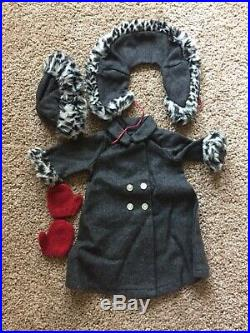 American Girl Doll Nellie OMalley Doll, Accessories, And Winter Coat Outfit