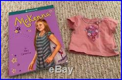 American Girl Doll Of The Year McKenna 2012 Retired Meet Great Outfit & Book EUC