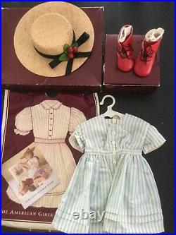 American Girl Doll Pleasant Company Kirsten Original Clothes, Books
