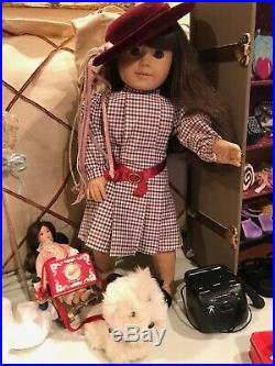 American Girl Doll Pleasant Company With A Lot Of Accessories RETIRED