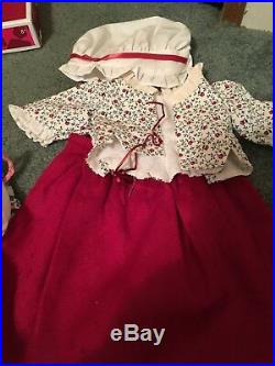 American Girl Doll Set/Lot Felicity & Elizabeth, incl. Cloak, Town Fair, & more