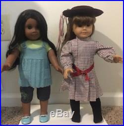 American Girl Doll Sonali And Samantha Lot Excellent Condition