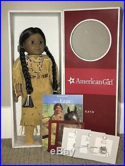 American Girl Doll Used, Kaya, Kayaatonmy, Native American, 18 Inches, Teepee