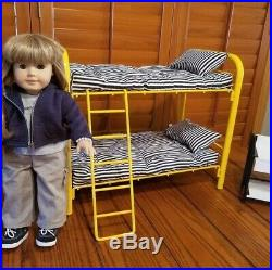 American Girl Doll-used, bunk beds, night-stand, clothing & more (Pleasant Co.)
