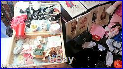 American Girl Dolls LOT Bitty Baby, Felicity & Samantha + Accessories 1990's