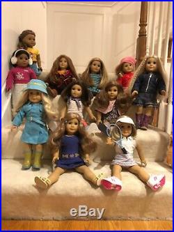 American Girl Dolls Lot of 11 Great condition