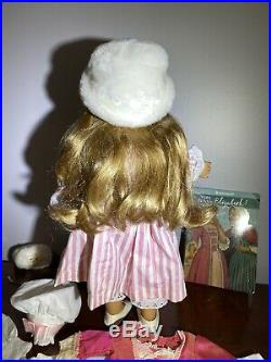 American Girl Elizabeth Cole 18 Doll & Outfits Accessories Lot Retired Bundle