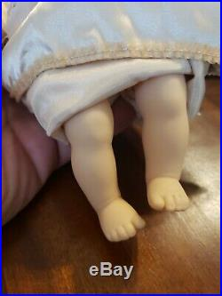 American Girl Felicity Baby sister Polly and cradle complete