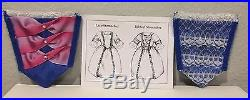 American Girl Felicity and Elizabeth Holiday Gowns