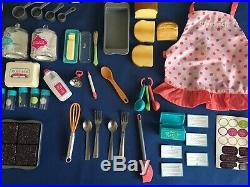 American Girl GOURMET KITCHEN SET Complete With All Original Pieces Excellent