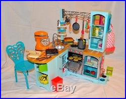 American Girl Gourmet Kitchen Set for 18 Doll