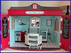 American Girl Grace's La Patisserie Bakery with Bistro Cafe Set