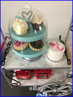 American Girl Grace's Pastry Cart La Petite Patisserie & Accessories Pre-Owned