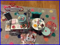 American Girl Graces Pastry Cart, Bistro Set And Two Books