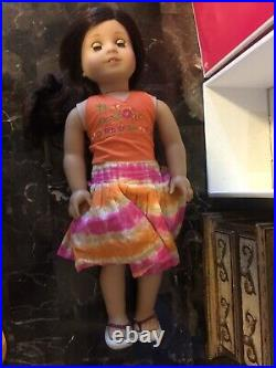 American Girl Jess Doll In Box